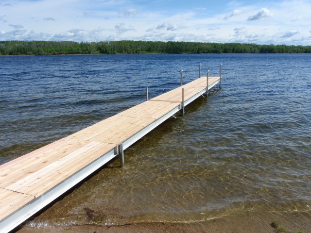 Dock by Lake